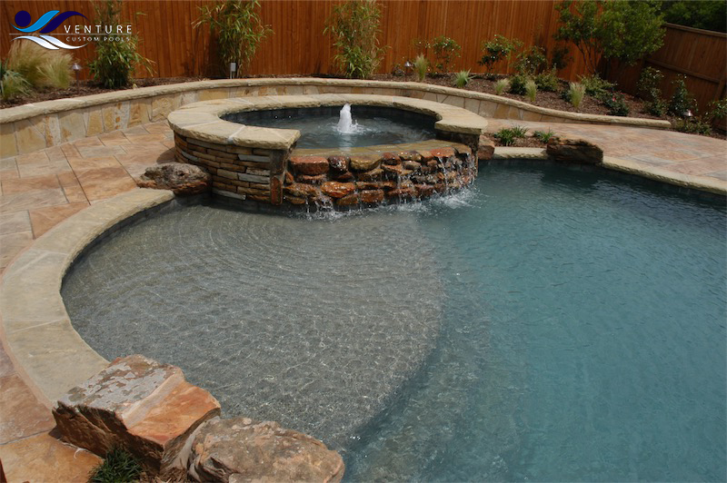 Free Form Pools | Venture Custom Pools | Plano, TX